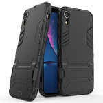 Slim Armour Tough Shockproof Case for Apple iPhone Xr - Black